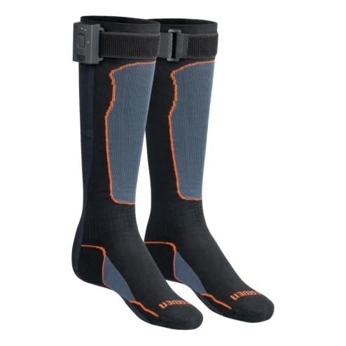 Elektrisch verwarmde lange sokken