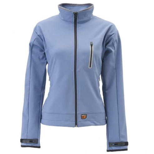 Verwarmde Soft Shell damesjas blauw 30Seven