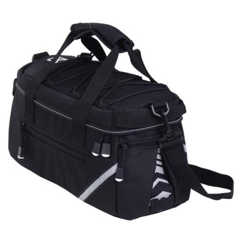 WIllex bagagedragertas 1200-8L.Zwart