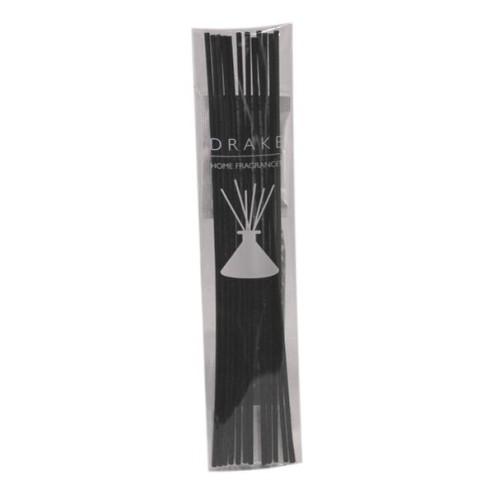 Bamboestokjes Drake zwart 18cm groot