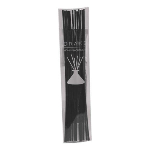 Bamboestokjes Drake zwart 28cm groot
