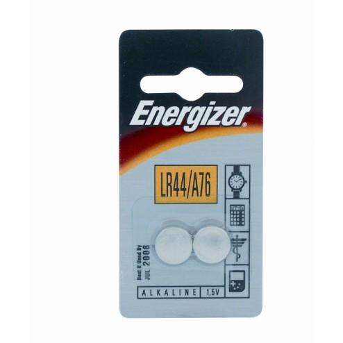 Batterij LR44/A76 AG13, PLUS Alkaline, 1,5 V, Knoopcel, 2 x Blister