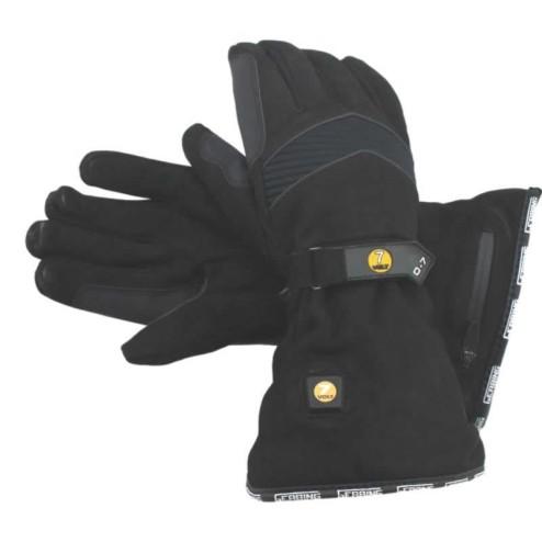 Verwarmde handschoenen Gerbing 7V Nubuck O7 PUSH BUTTON