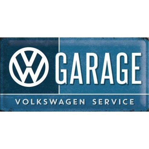Metaalplaat VW GARAGE Service Nostalgic Art 27003