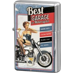 Retro -Best GARAGE for Motorcycles- Aansteker Nostalgic art