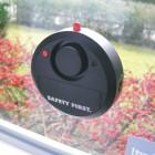 Alarm glasbreukmelder waarschuwd bij glasbreuk