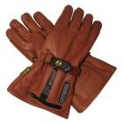 Verwarmde handschoenen 7V Gerbing Leder bruin H7