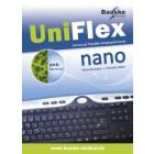 Antibacteriele toetsenbord bescherming UniFlex nano