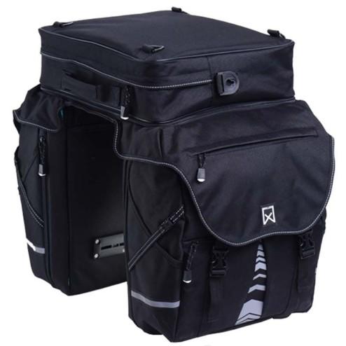 Willex bagagetas XL1200- Polyester 65L.Zwart