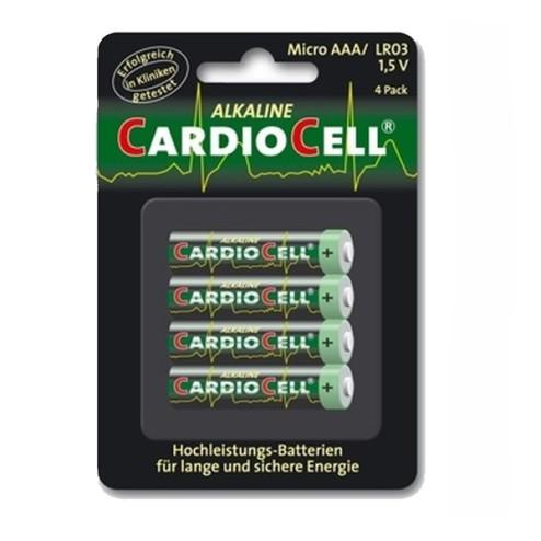 Batterij Alkaline CARDIOCELL Micro AAA 1.5V
