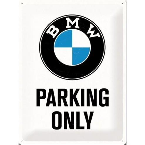 BMW PARKING ONLY Tin Sign 30x40cm