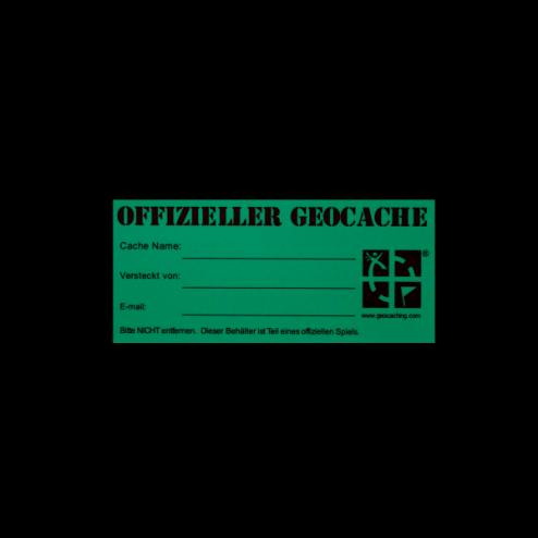 Original Geocaching.com Sticker klein