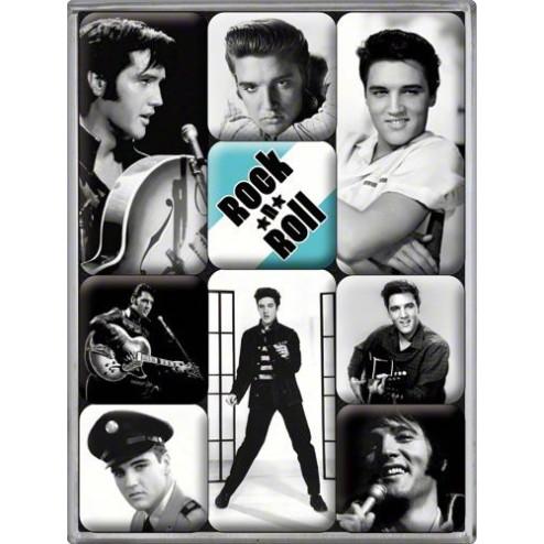 Magneet set Elvis Presley - Nostalgic Art