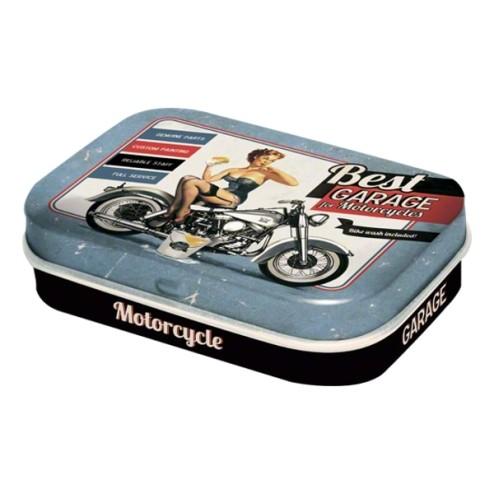 Nostalgic-Art -Best GARAGE for motorcycles- pillendoosje