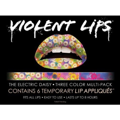 Violent Lips Liptattoo The Daisies * Three color multi-pack