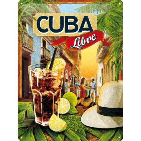 CUBA Libre Sign 30x40cm