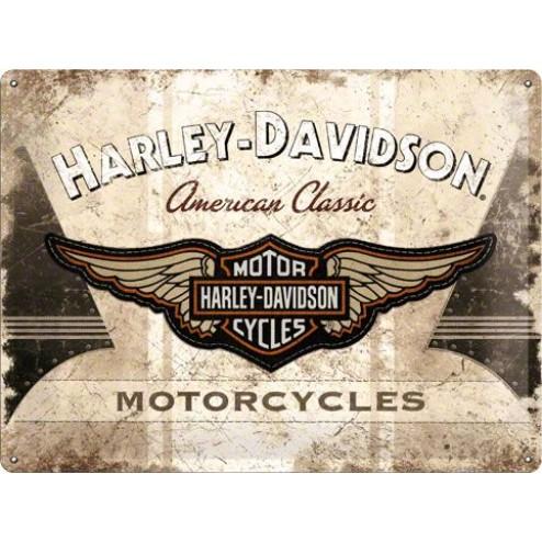 HARLEY-DAVIDSON Tin Sign 30x40cm