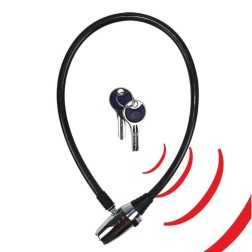 Alarm cable lock compact