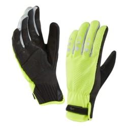 Sealskinz waterproof cycling glove XP yellow