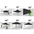 Easyup tent plaatsen in 60 sec met 2 personen