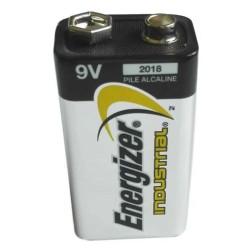 Battery Energizer industrial Alkaline 9 Volt