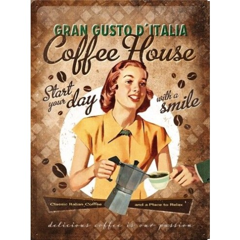 Coffee House Sign 30x40cm
