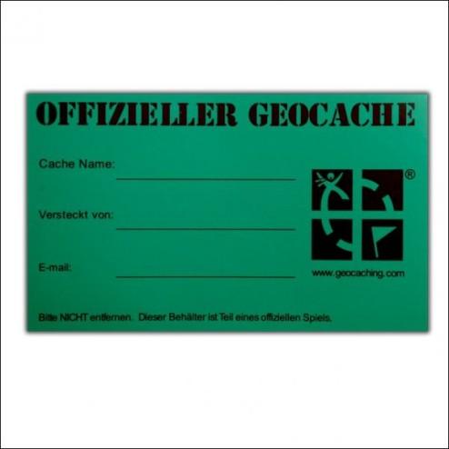 Original Geocaching.com Sticker middelgroot