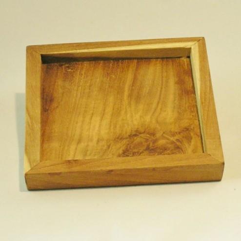 Kaarshouder hout naturel