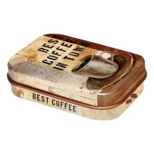 Nostalgic-Art-Best Coffee in town- pillendoosje