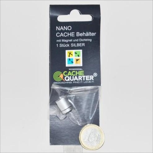 Nano Cache houder Zilver