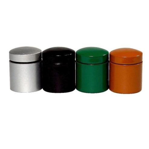 Nano Cache Behalter SET ( Zwart,Groen,Zilver,Rost)