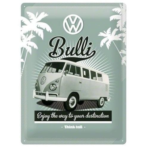 VW Bulli Tin Sign 30x40cm