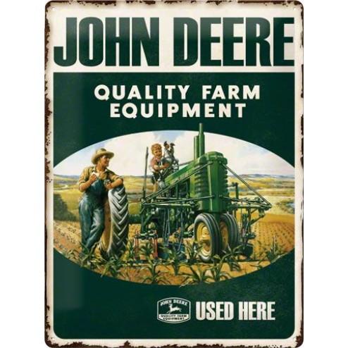 JOHN DEERE Sign 30x40cm