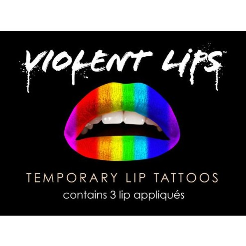 Violent Lips Liptattoo The RAINBOW  793573939005