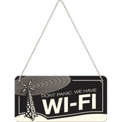 Hanging Sign WI-FI-NA28013