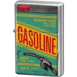 Retro -Gasoline- Aansteker Nostalgic art