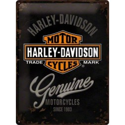 Metaalplaat HARLEY-DAVIDSON Parking Only 30x40cm