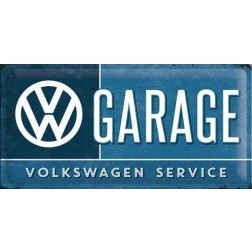 Metaalplaat VW GARAGE Service Nostalgic Art 27003