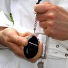 Sleutel Alarm met LED-licht activeren door uittrekken pen